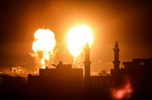 Israel Launches Airstrikes On Gaza, Breaking Cease-Fire With Hamas 2