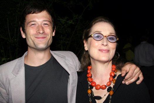 Meryl Streep and her son, Henry Wolfe Gummer, in 2006.