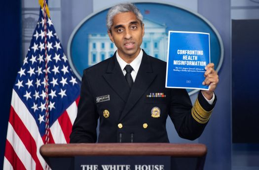 Surgeon General Says COVID-19 Misinformation Is An 'Insidious Threat' To The U.S. 2