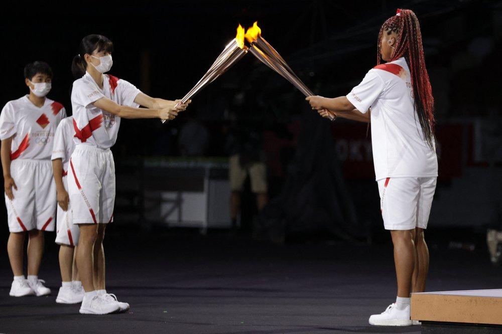 Naomi Osaka Becomes First Tennis Player To Light Olympic Cauldron | HuffPost