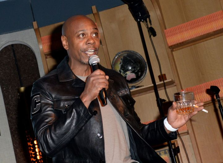Dave Chappelle performing in 2018.