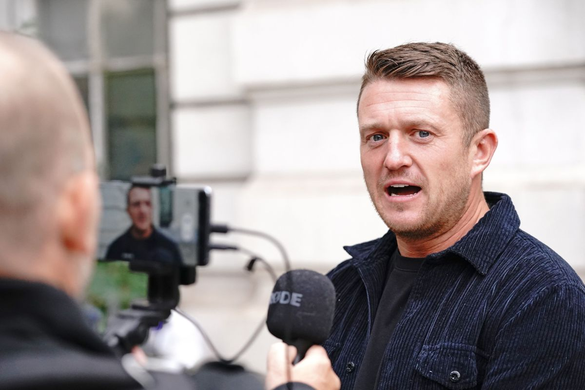 , Tommy Robinson Handed Five-Year Stalking Order After Harassing Journalist, The Evepost News