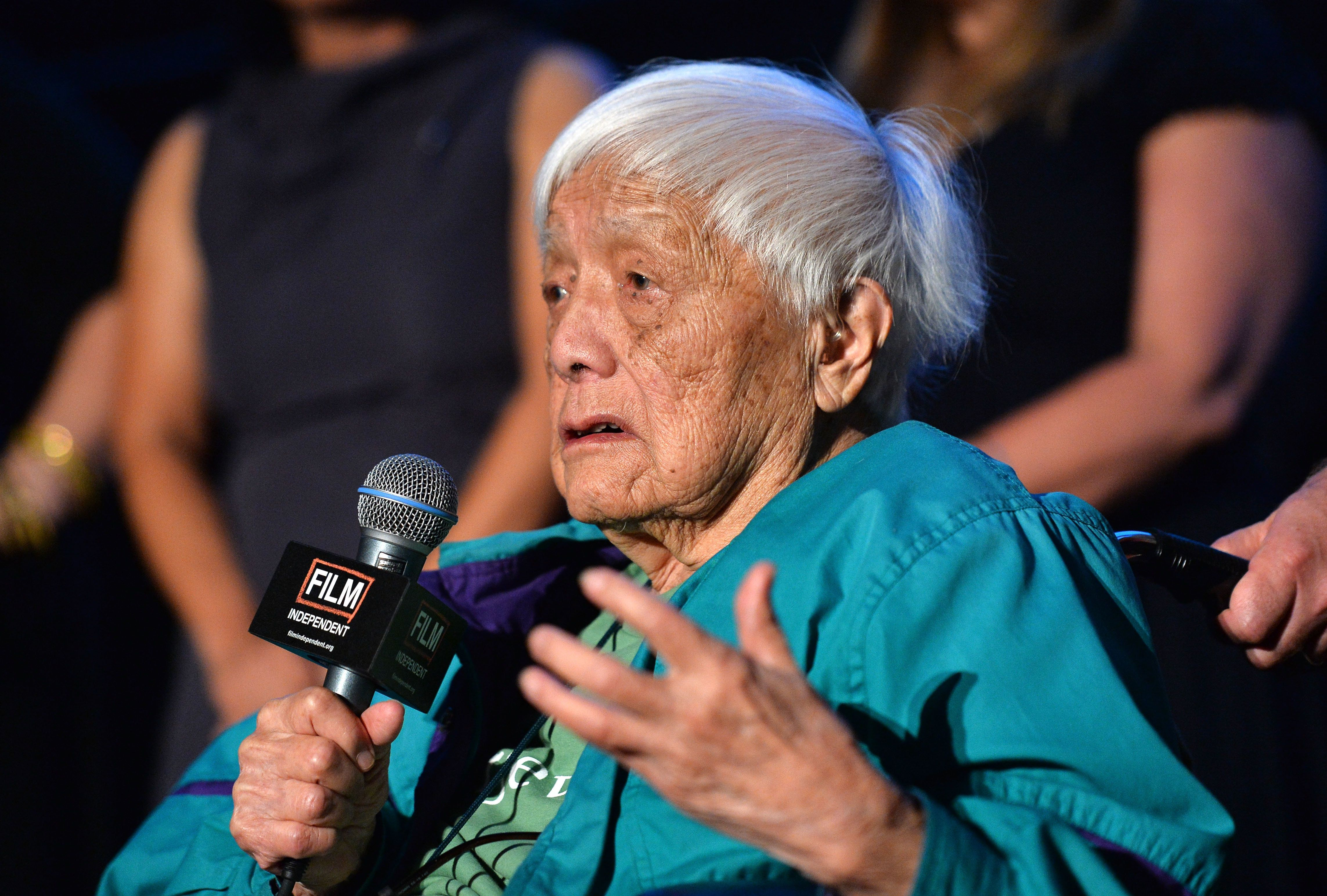 "<span class='image-component__caption' itemprop=""caption"">Activist and author Grace Lee Boggs has died at the age 100.</span>"