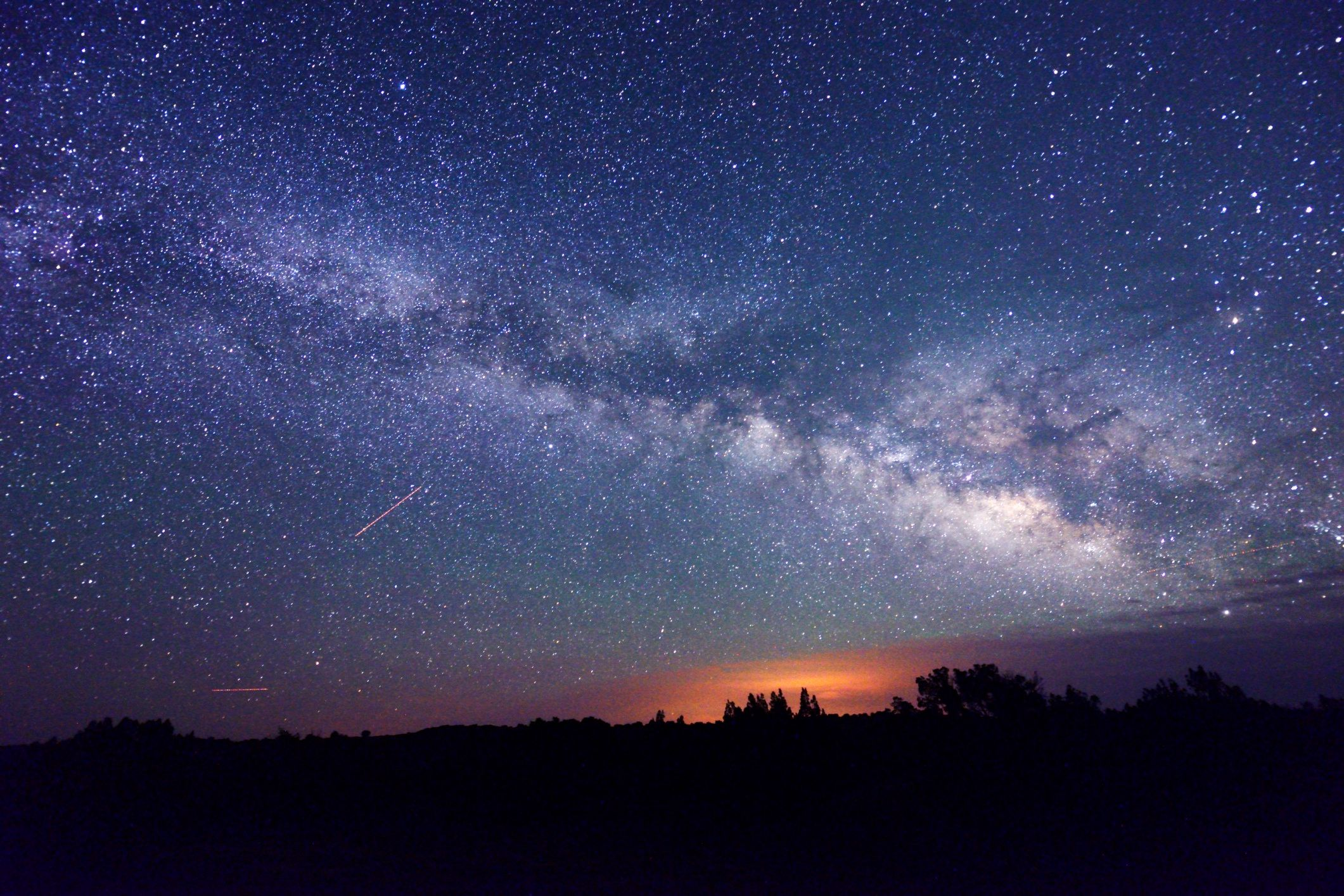 Image result for pics starry flagstaff az night