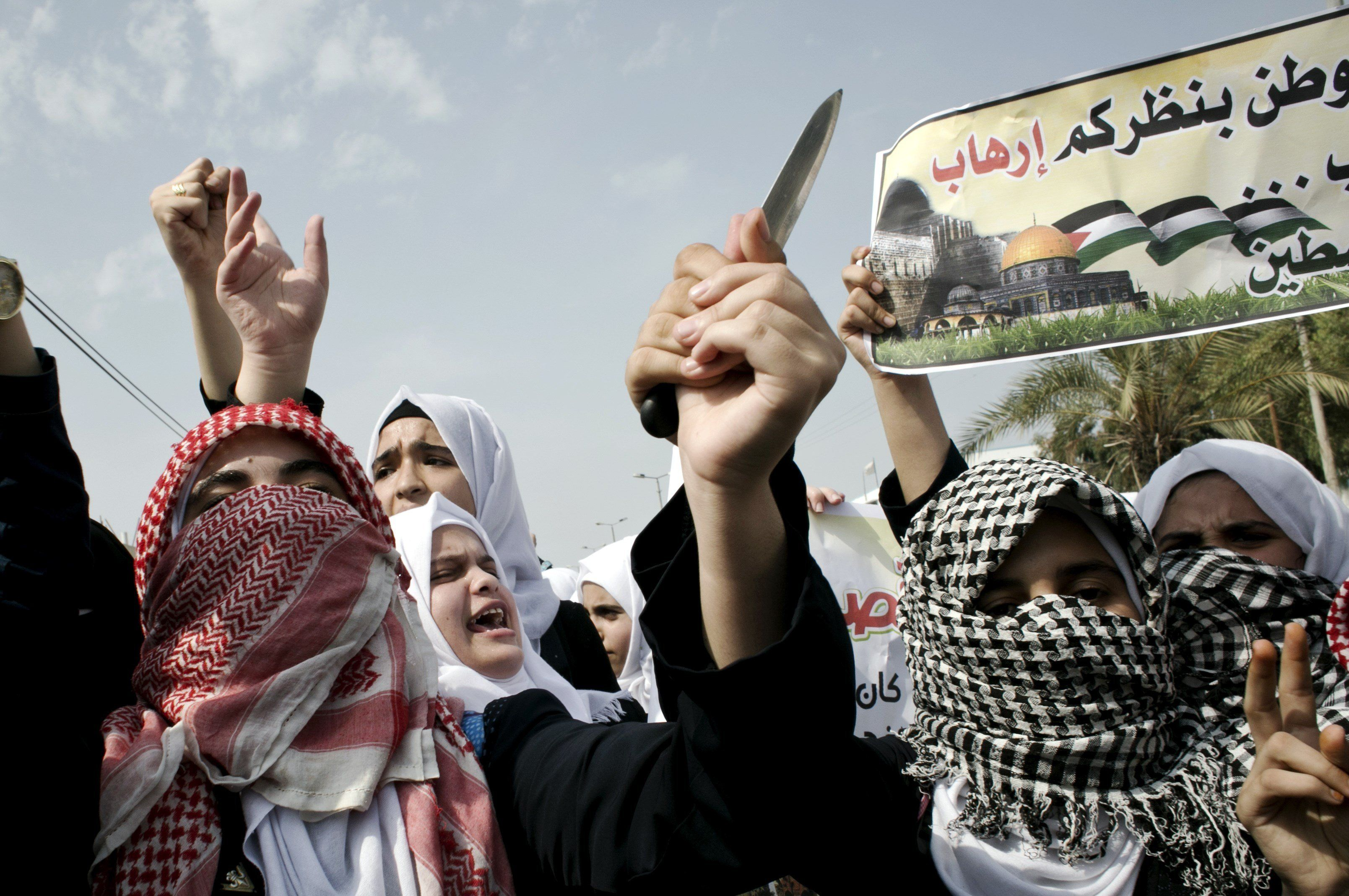 Image result for Knife Intifada