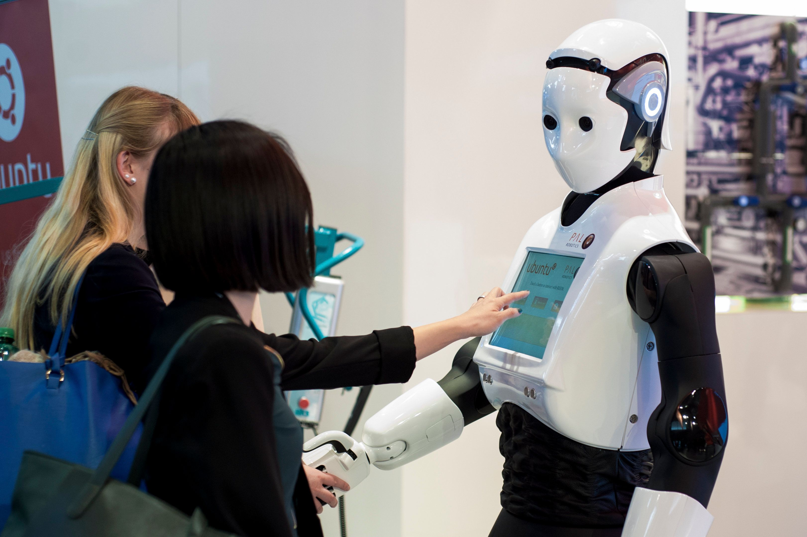 Image result for REEM the robot Airb New Zealand