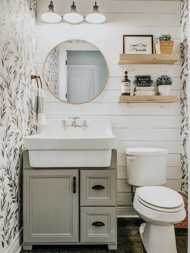 Small Farmhouse Bathroom Ideas: Inspiration and Shopping ... on Farmhouse Bathroom  id=38510