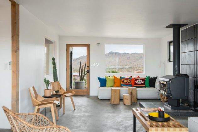 Desert Modern Living Room by Brandon Stanley