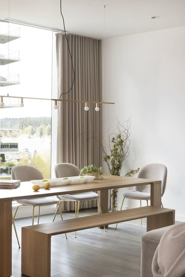Dining Room Curtain Ideas That Are Easy to Replicate | Hunker on Dining Room Curtain Ideas  id=73665