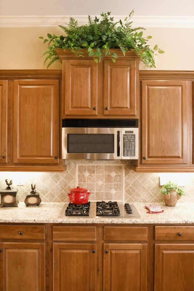 What Color Granite Countertops Go With Light Maple ... on Kitchen Countertops With Maple Cabinets  id=67907