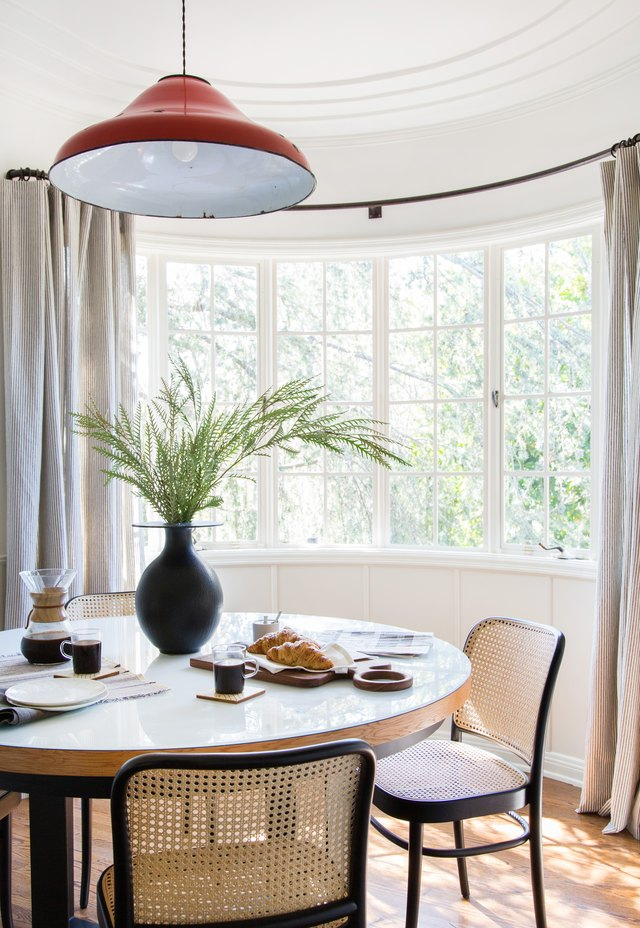 Dining Room Curtain Ideas That Are Easy to Replicate | Hunker on Dining Room Curtain Ideas  id=12665