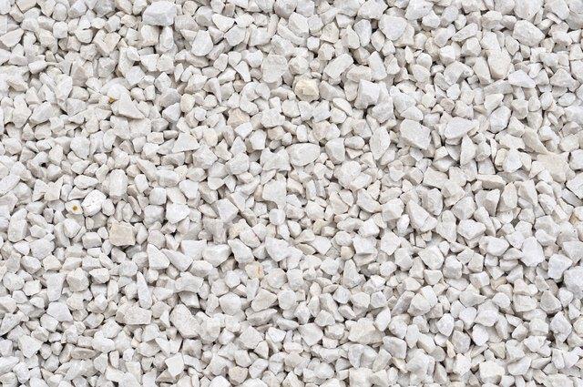 White Landscaping Rock Bulk