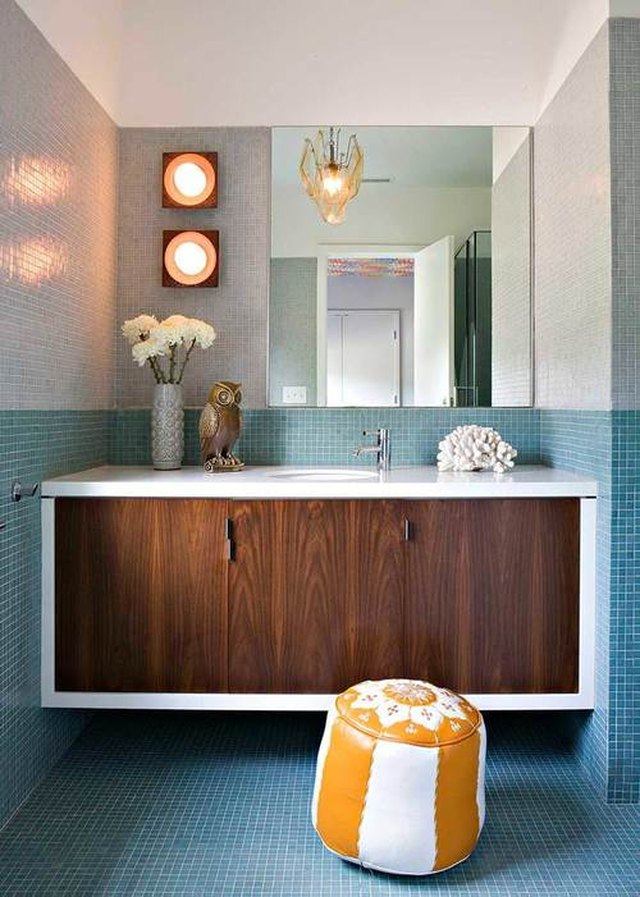14 Midcentury Modern Bathroom Tile Ideas | Hunker on Modern:gijub4Bif1S= Kitchen Remodel  id=19453