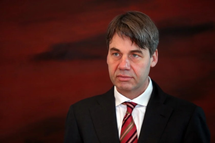 Jan Hecker, Germany's ambassador to China, has died suddenly, only days after taking up his post. Photo: Getty Images