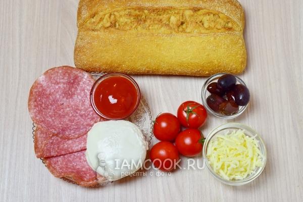 Пицца из хлеба рецепт с фото пошагово Как сделать пиццу