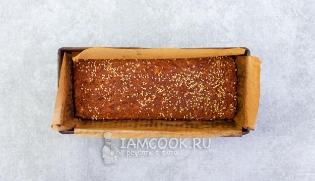 Готовый хлеб по Дюкану в духовке