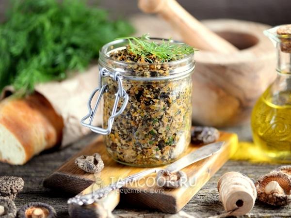 Грибная икра из сушеных и свежих грибов рецепт с фото