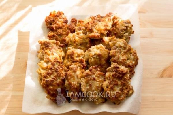 Мясные оладьи из свиного фарша — рецепт с фото пошагово