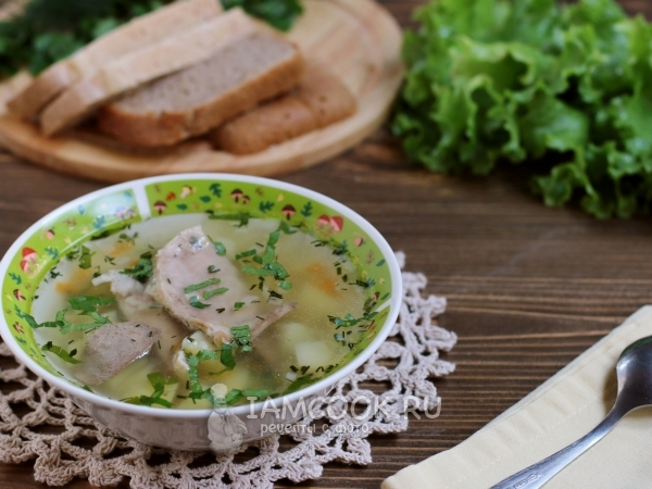 Суп с кроликом — рецепт с фото пошагово. Как сварить ...