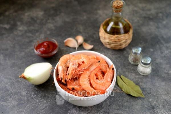 Креветки в томатном соусе — рецепт с фото пошагово
