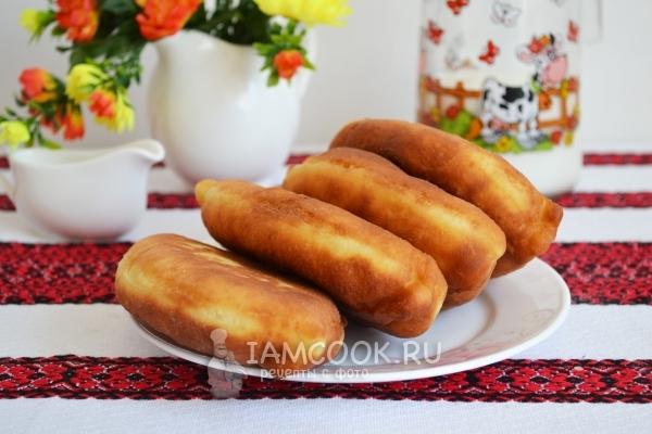 Жареные пирожки с капустой — пошаговый рецепт с фото и ...