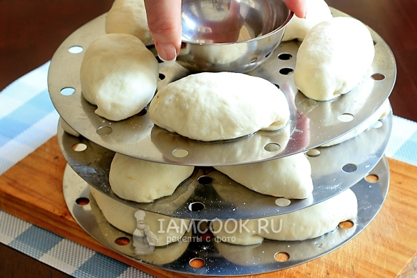 Photo of the preparation of a recipe: Pyanz (Pieodi), or Korean manta - Step number 22