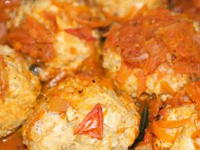 Котлеты с грибами в духовке, рецепт с фото