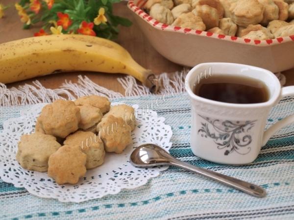 Банановое печенье — рецепт с фото пошагово. Как ...