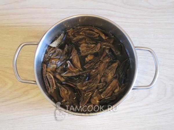 Икра из сушеных грибов рецепт с фото пошагово Как