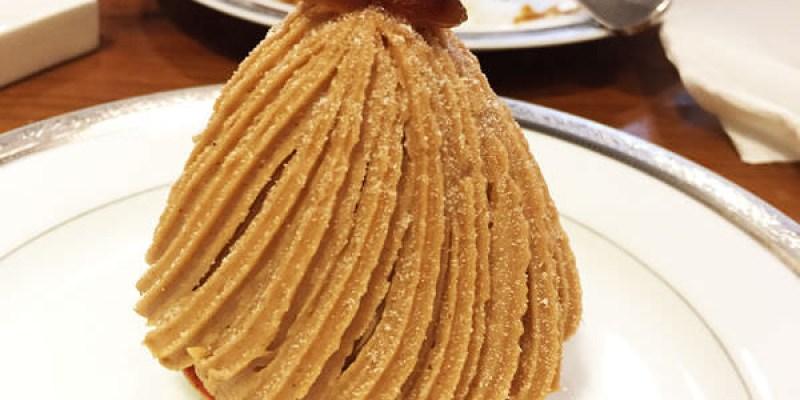 台北甜點推薦|珠寶盒法式點心坊 貴婦般的享受♥蒙布朗超推薦