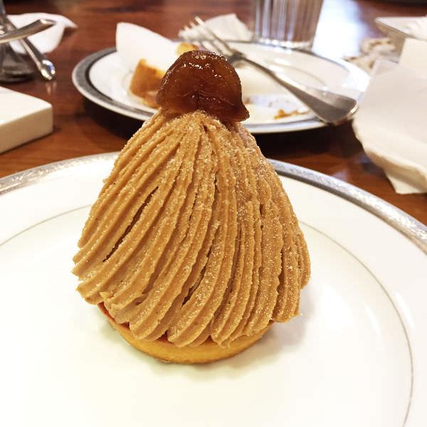台北甜點推薦 珠寶盒法式點心坊 貴婦般的享受♥蒙布朗超推薦