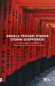 Giorni giapponesi - Angela Terzani Staude - copertina