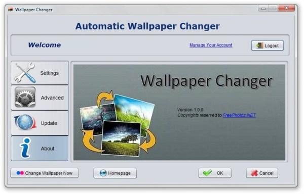 FreePhotoz.net Automatic Wallpaper Changer Download