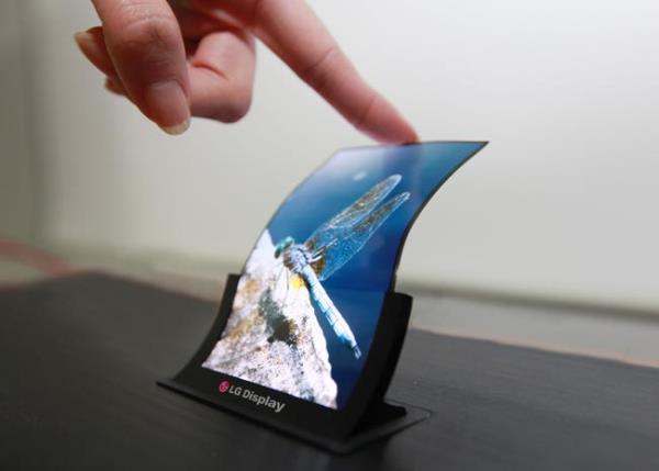 LG anuncia produção em massa de smartphone com tela flexível