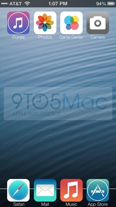 Site mostra como será a aparência do iOS 7 e conta detalhes do sistema