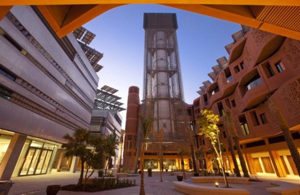 Torre eólica de Masdar