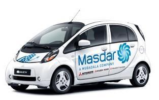 Carros elétricos em Masdar