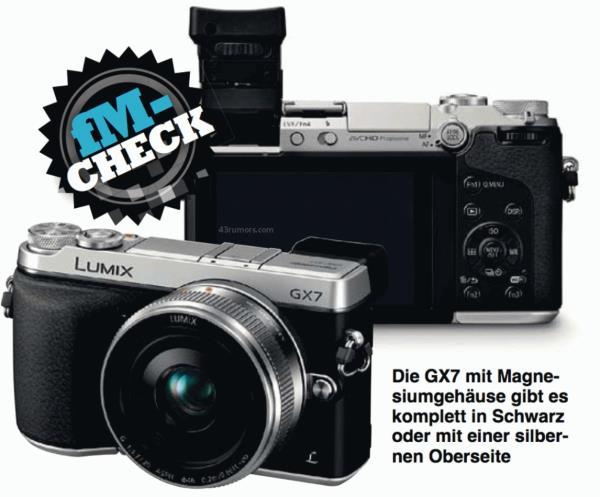 Vazam imagens e informações da Lumix GX7, a câmera sem espelho da Panasonic