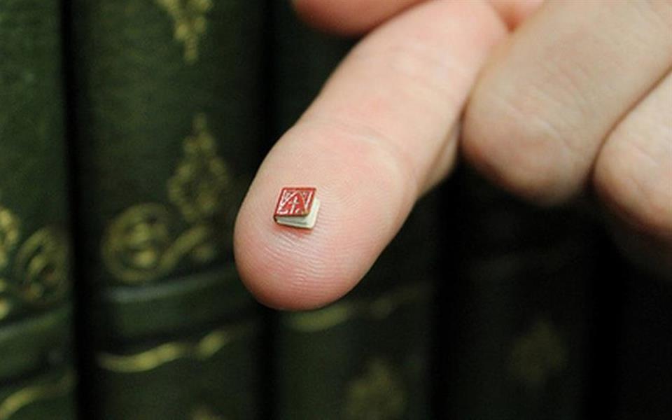 Livro de 2 cm² é descoberto nos Estados Unidos. O que há nele?