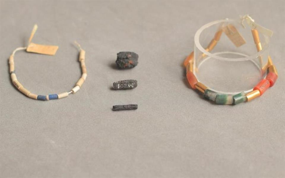 Antigos egípcios fabricavam colares com rochas extraterrestres