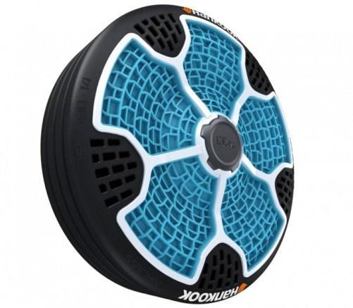 i-Flex, o pneu feito de materiais recicláveis e que não