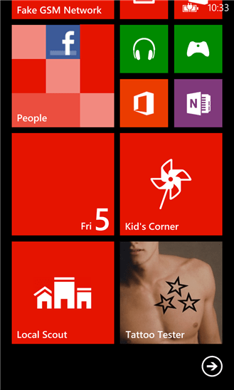 Tattoo Tester Download para Windows Phone Grátis