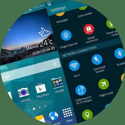 Novo Touchwiz