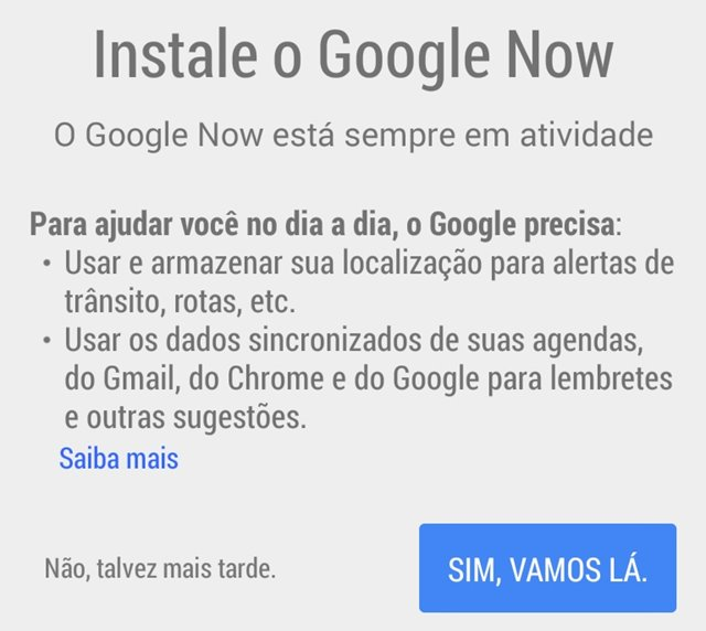 Google Chrome: como ativar e usar o recurso Google Now no seu PC