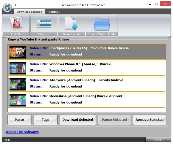 Free YouTube To Mp3 Downloader FMC Download