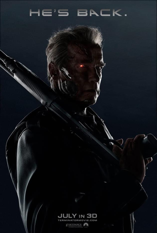 Poster do filme O exterminador do futuro: Gênesis