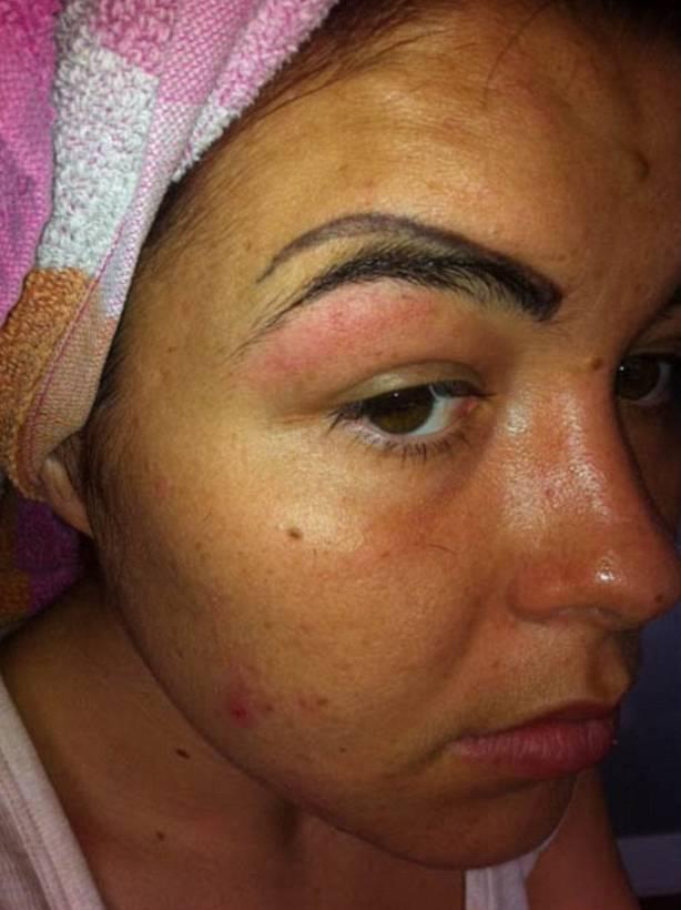 Resultado de imagem para sobrancelhas tatoo