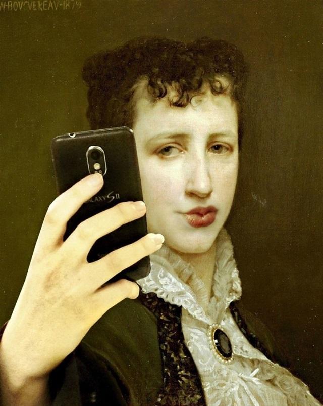 Retrato da pintora Elizath Gardner, esposa de William-Adolphe Bouguereau