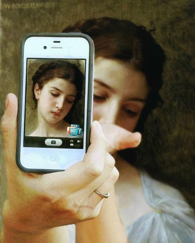 """""""Estudo da cabeça de uma menina"""", de William-Adolphe Bouguereau (1898)"""