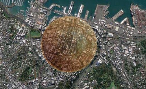 Cratera criada por asteroide